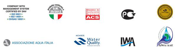 گواهینامه ها و استانداردهای یک دستگاه تصفیه آب خانگی خوب