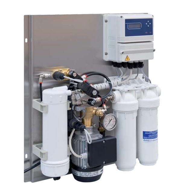 تصفیه آب صنعتی RO با ظرفیت 50 لیتر در ساعت