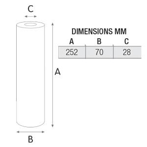 فیلتر تصفیه آب کربن گرانول