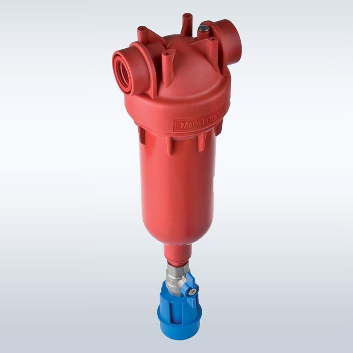 فیلتر تصفیه آب ورودی ساختمان مخصوص آب گرم