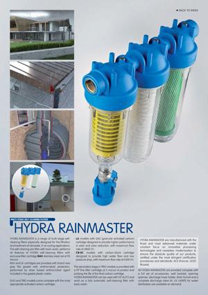 کاتالوگ فیلتر تصفیه آب ورودی ساختمان