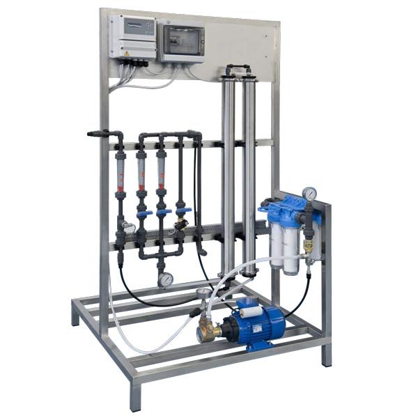 تصفیه آب صنعتی RO با ظرفیت 270 لیتر در ساعت